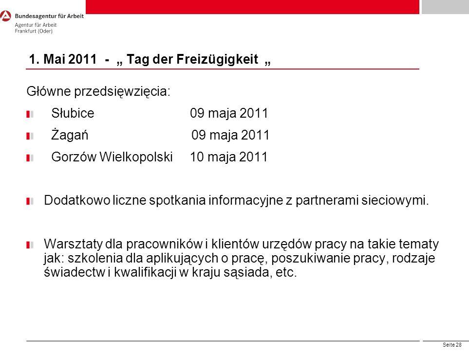"""1. Mai 2011 - """" Tag der Freizügigkeit """""""