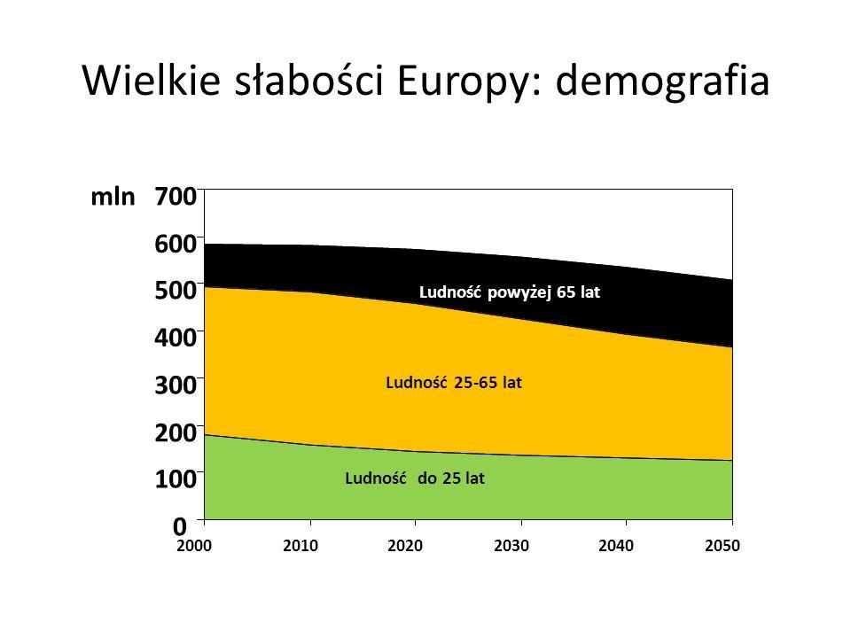 Wielkie słabości Europy: demografia