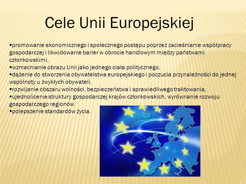 Cele Unii Europejskiej