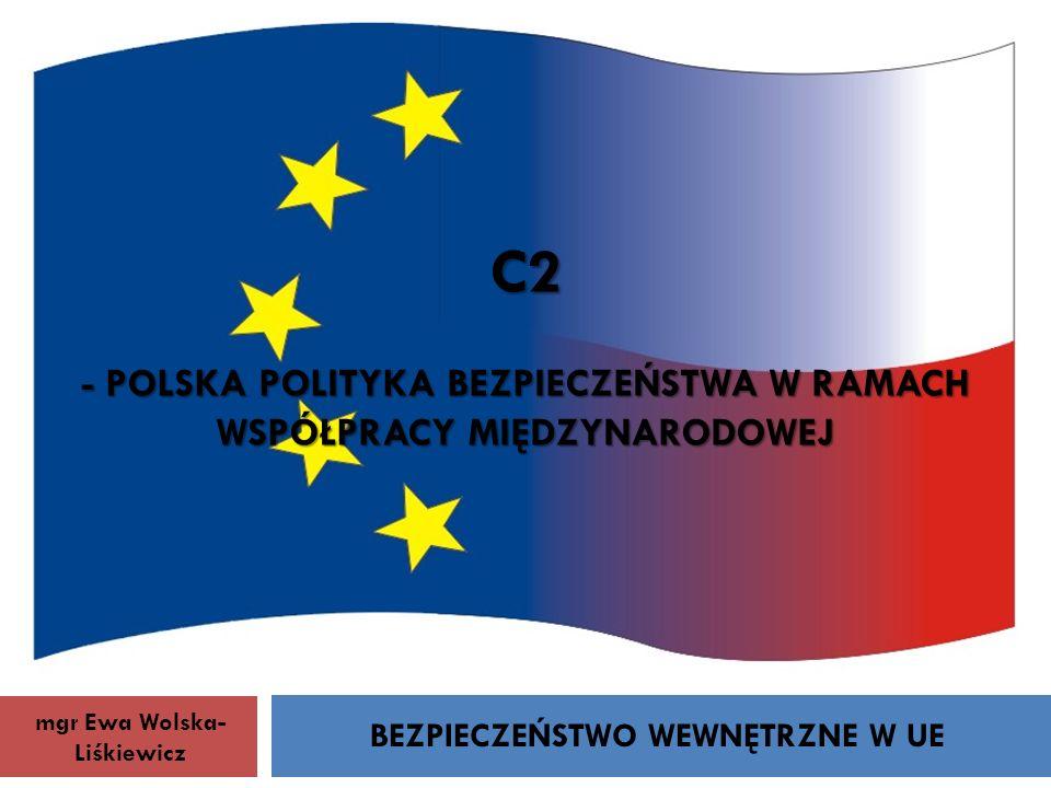 BEZPIECZEŃSTWO WEWNĘTRZNE W UE
