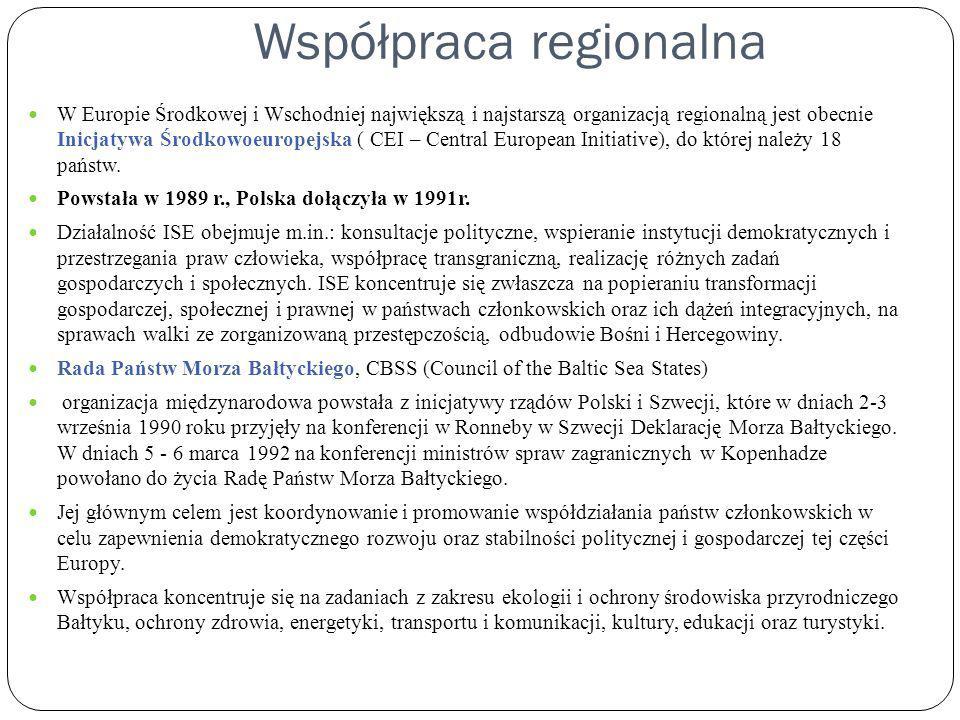 Współpraca regionalna