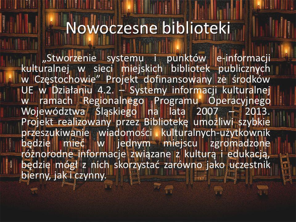 Nowoczesne biblioteki