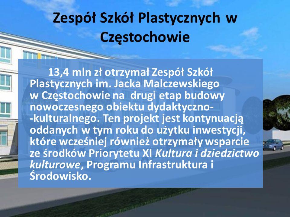 Zespół Szkół Plastycznych w Częstochowie