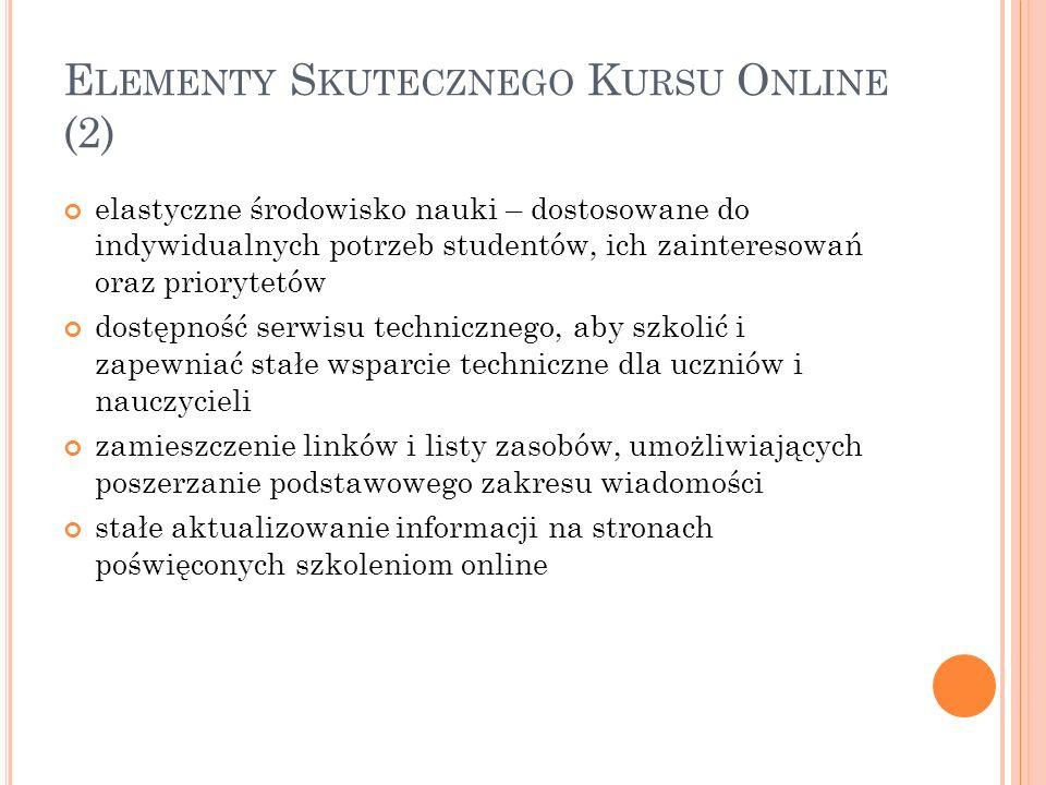 Elementy Skutecznego Kursu Online (2)