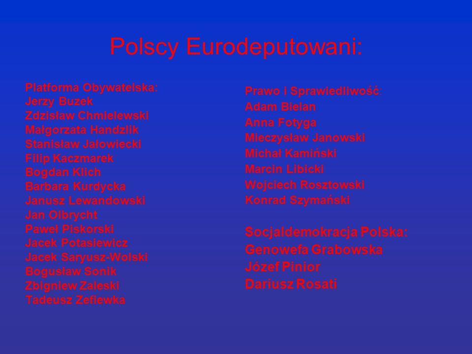 Polscy Eurodeputowani: