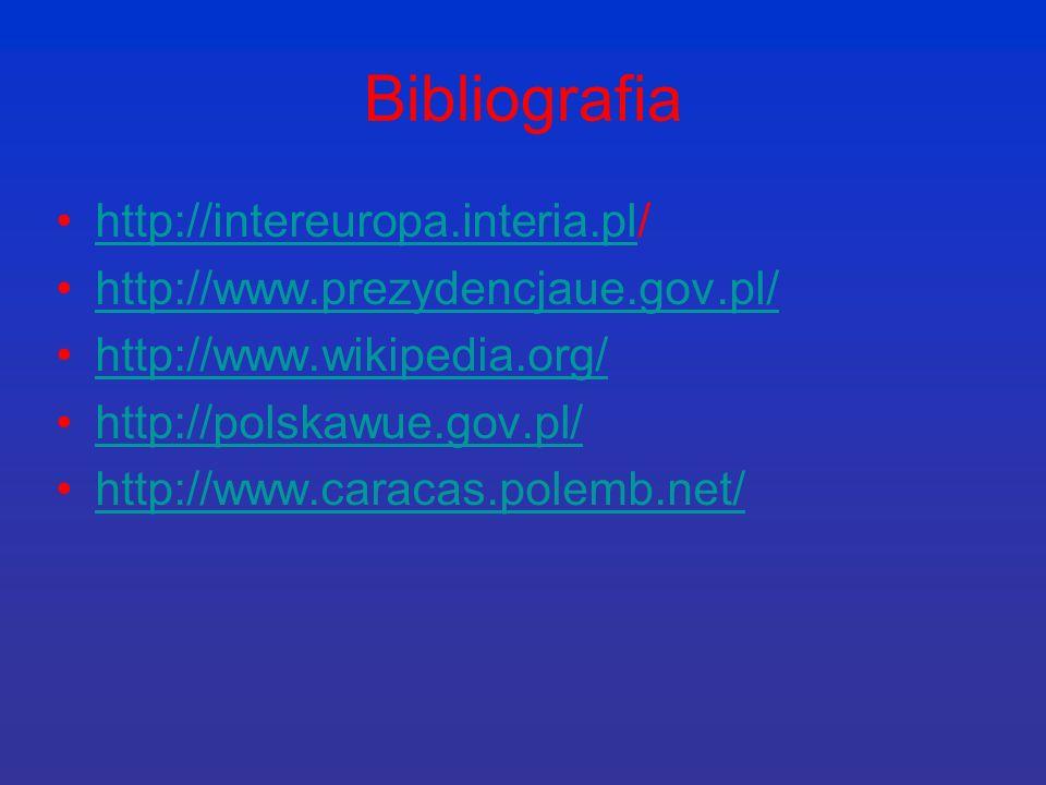 Bibliografia http://intereuropa.interia.pl/
