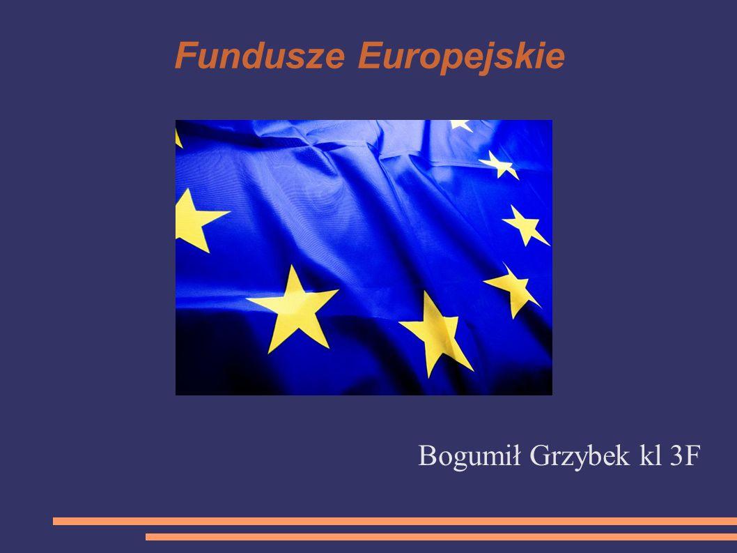 Fundusze Europejskie Bogumił Grzybek kl 3F