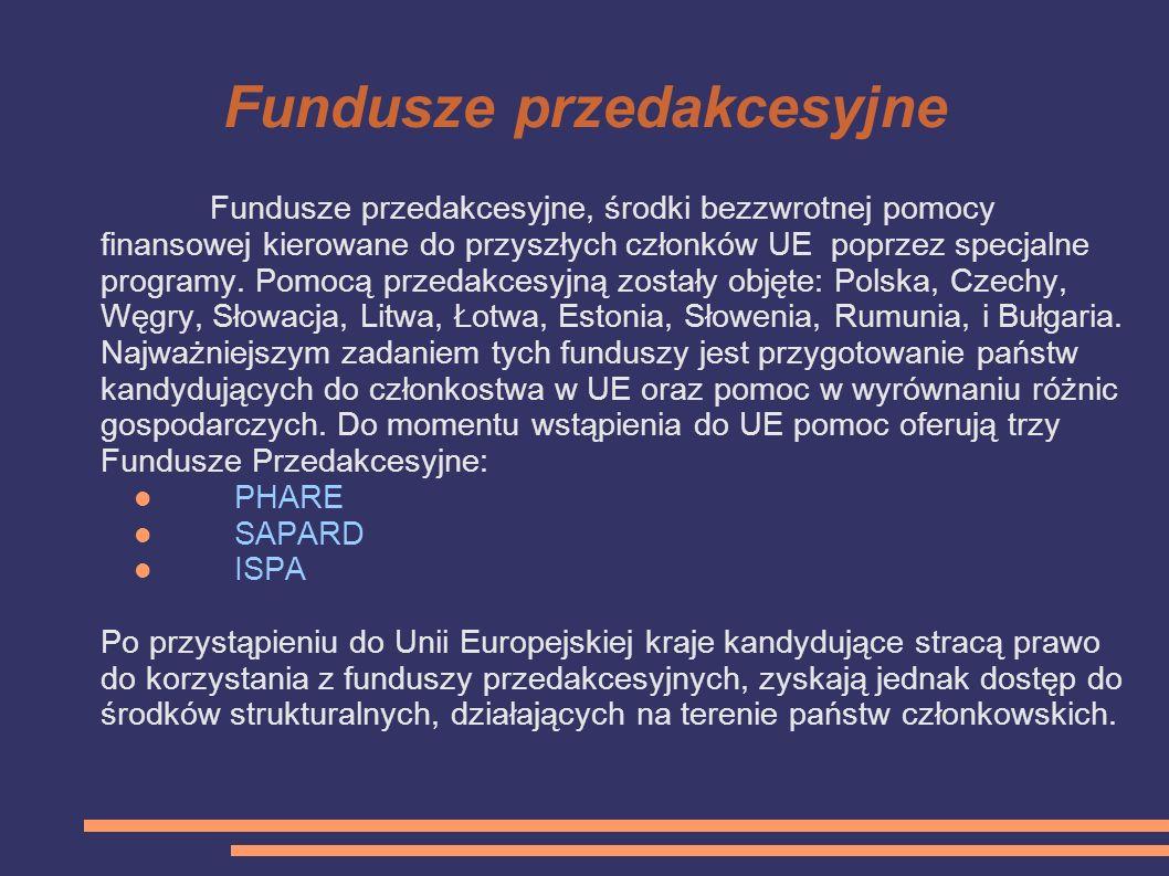 Fundusze przedakcesyjne