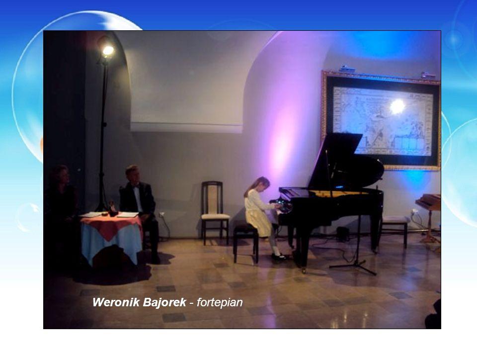Weronik Bajorek - fortepian