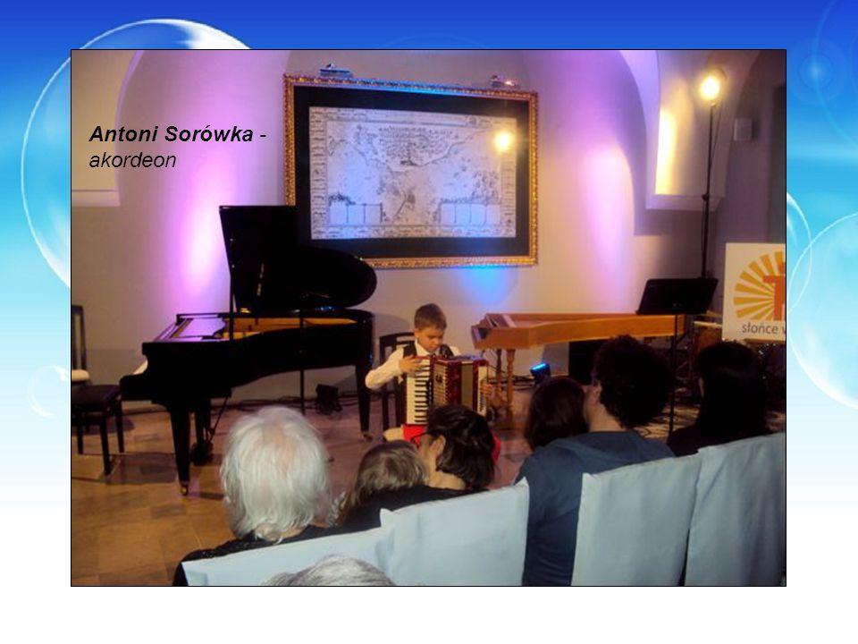 Antoni Sorówka - akordeon