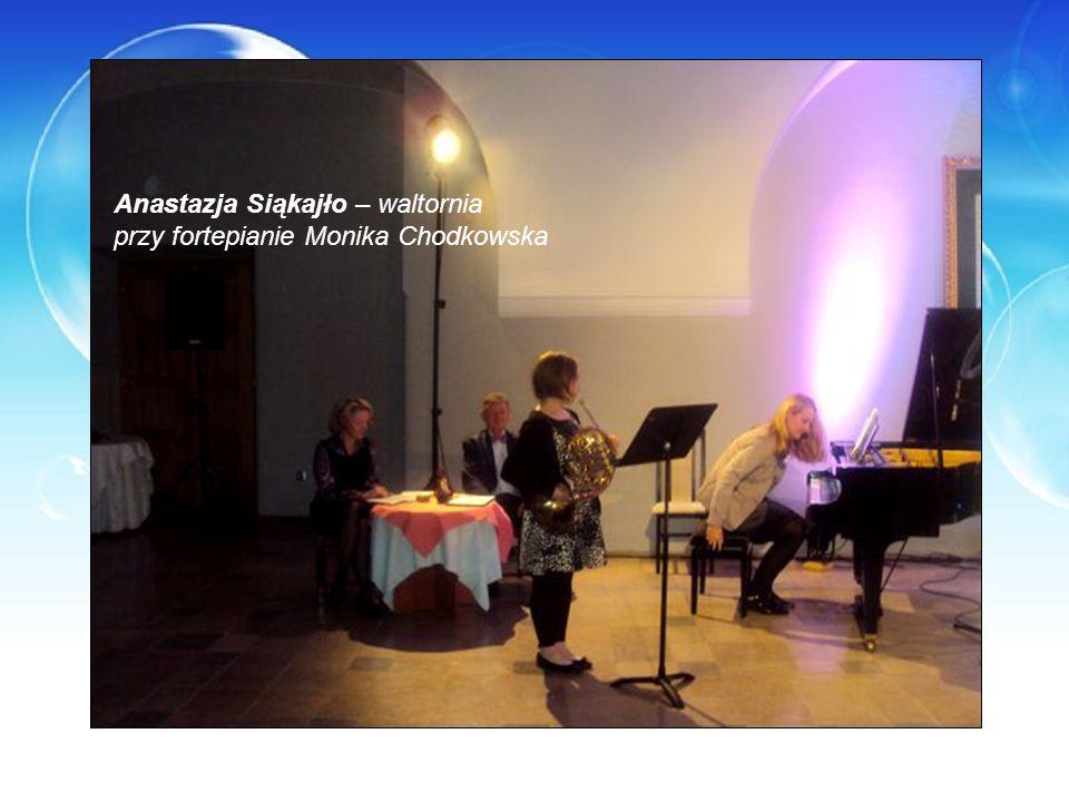 Anastazja Siąkajło – waltornia