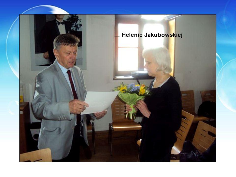 … Helenie Jakubowskiej
