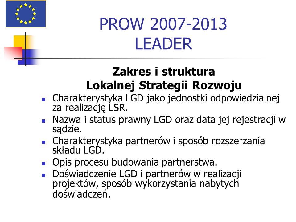Lokalnej Strategii Rozwoju