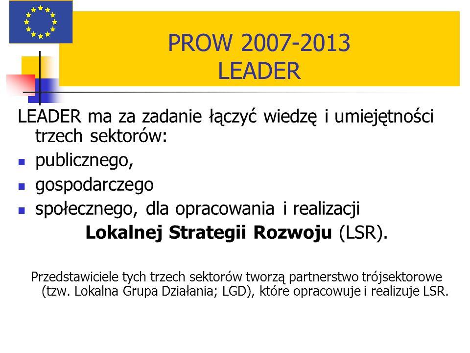 Lokalnej Strategii Rozwoju (LSR).