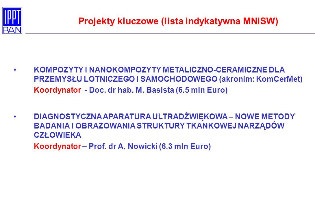 Projekty kluczowe (lista indykatywna MNiSW)