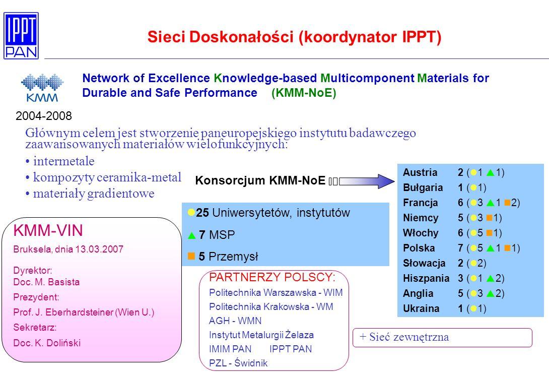 Sieci Doskonałości (koordynator IPPT)
