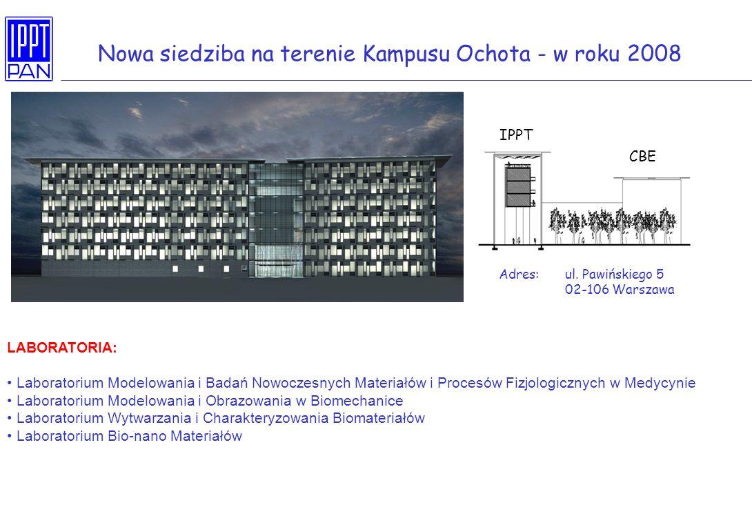 Nowa siedziba na terenie Kampusu Ochota - w roku 2008