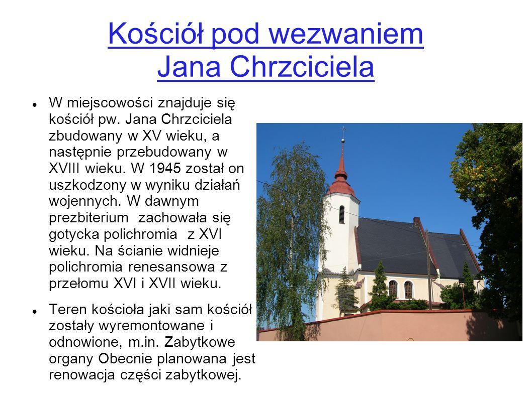 Kościół pod wezwaniem Jana Chrzciciela