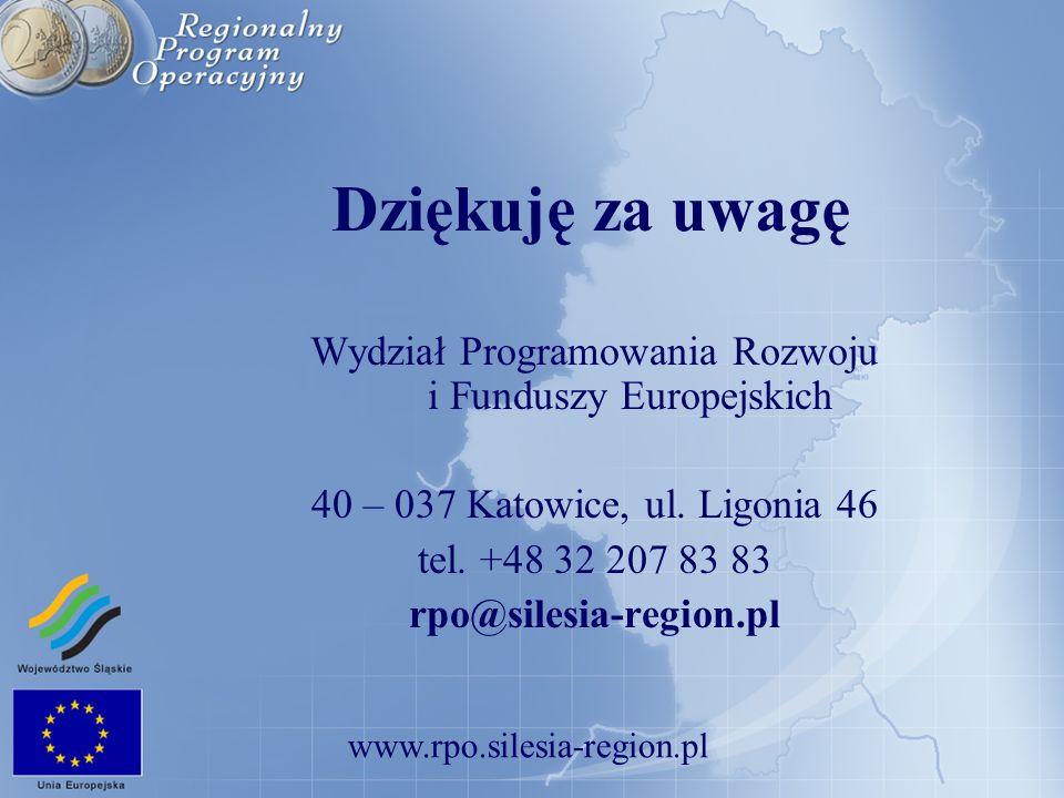 Wydział Programowania Rozwoju i Funduszy Europejskich