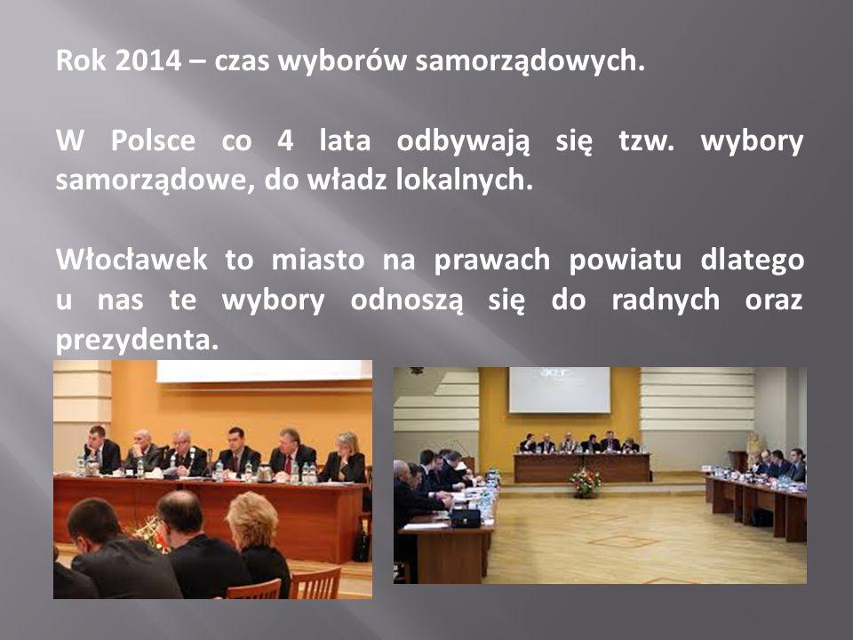 Rok 2014 – czas wyborów samorządowych.