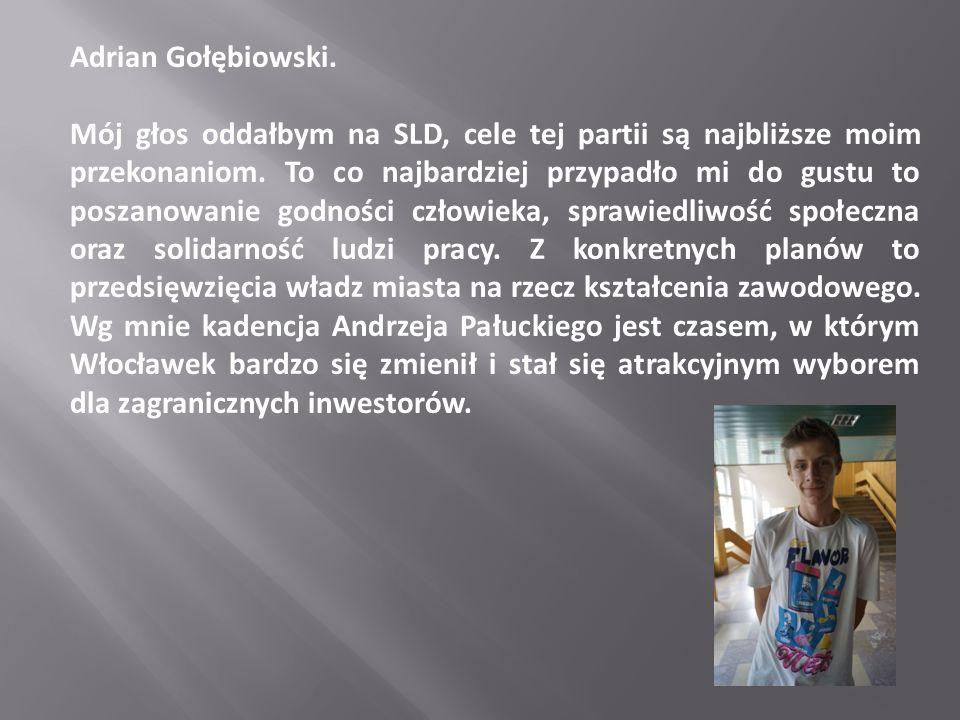 Adrian Gołębiowski.