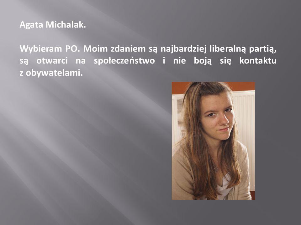 Agata Michalak.