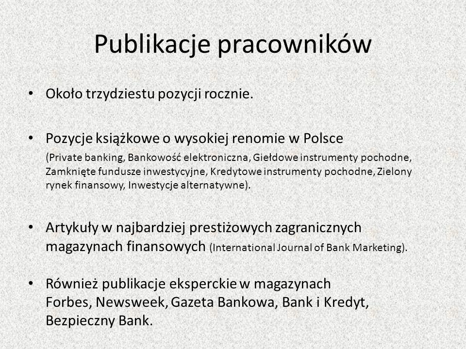Publikacje pracowników