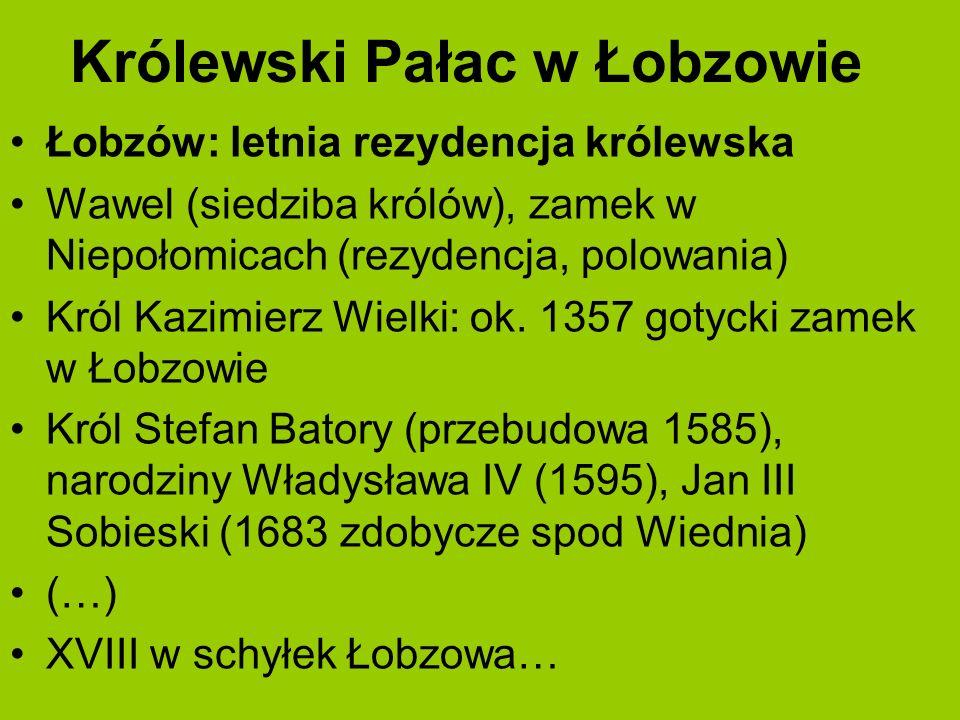 Królewski Pałac w Łobzowie