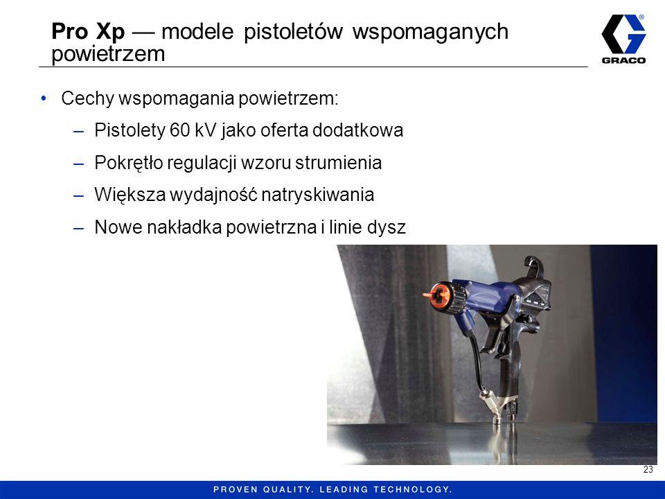 Pro Xp — modele pistoletów wspomaganych powietrzem