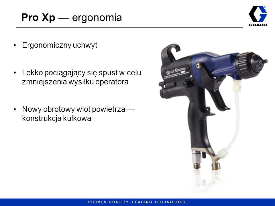Pro Xp — ergonomia Ergonomiczny uchwyt