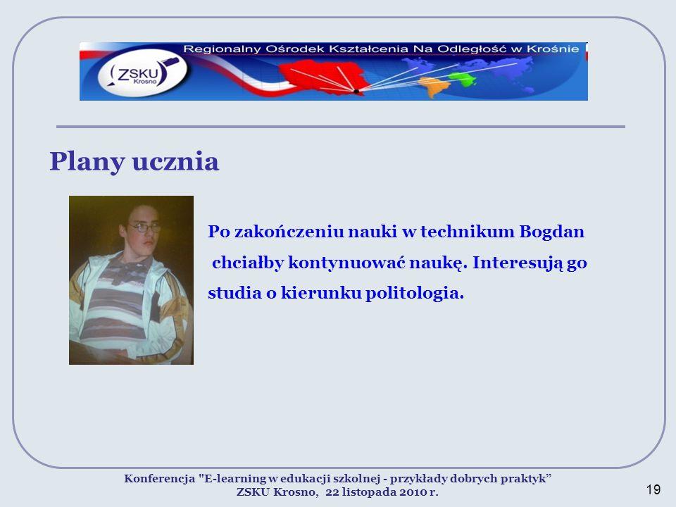 ZSKU Krosno, 22 listopada 2010 r.