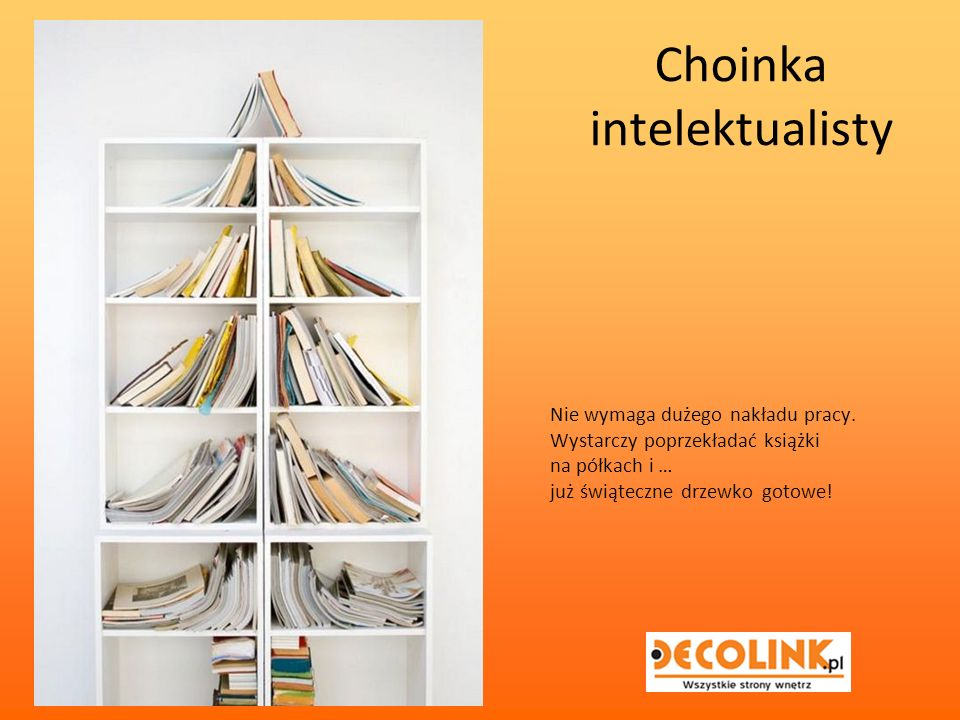 Choinka intelektualisty