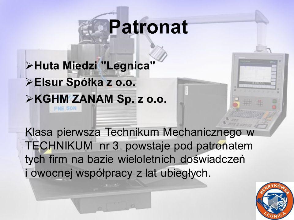 Patronat Huta Miedzi Legnica Elsur Spółka z o.o.