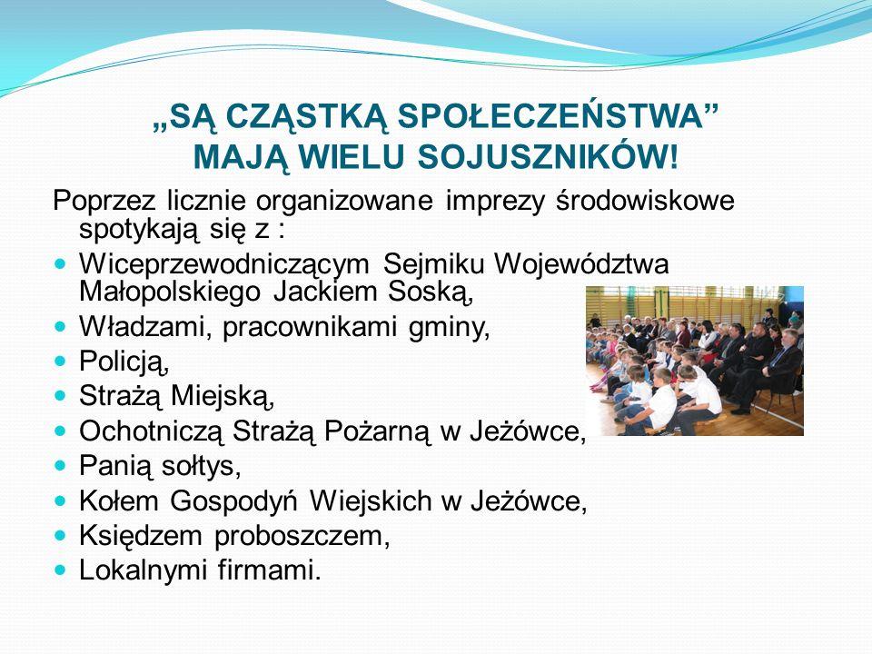 """""""SĄ CZĄSTKĄ SPOŁECZEŃSTWA MAJĄ WIELU SOJUSZNIKÓW!"""