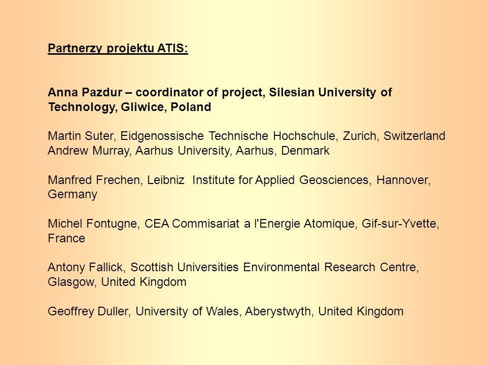 Partnerzy projektu ATIS: