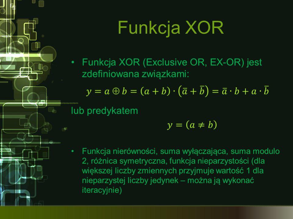 Funkcja XOR