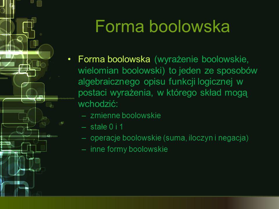Forma boolowska