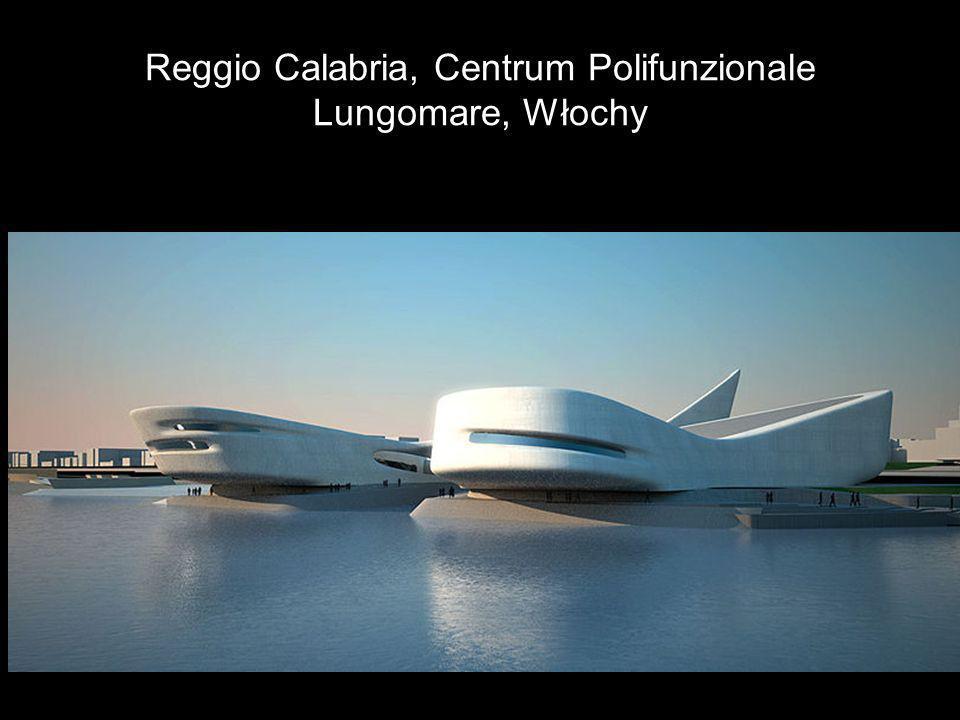 Reggio Calabria, Centrum Polifunzionale Lungomare, Włochy