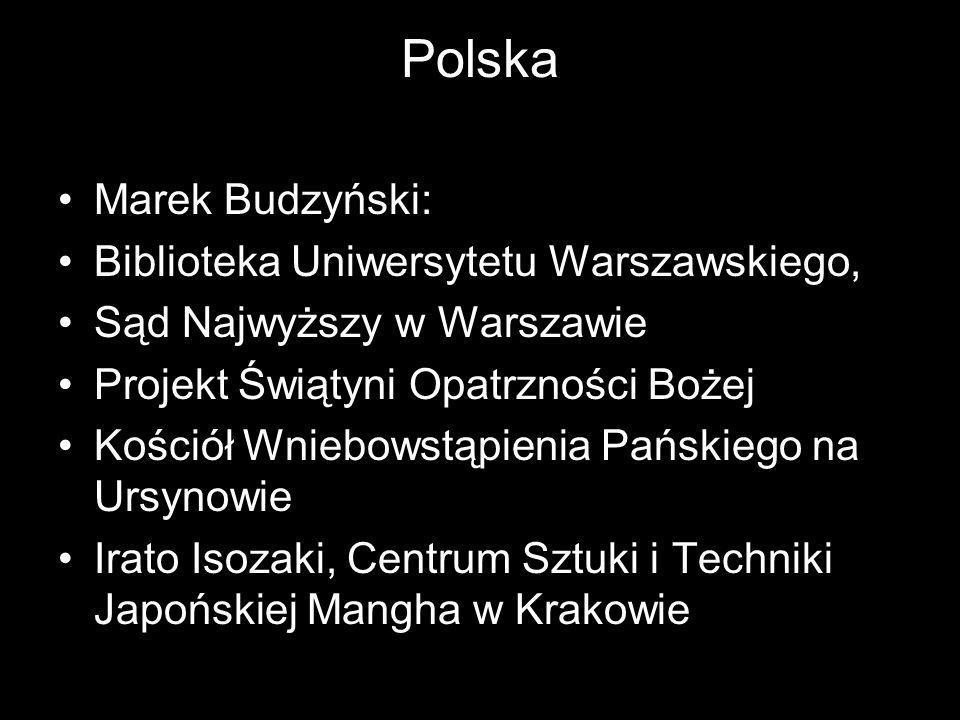 Polska Marek Budzyński: Biblioteka Uniwersytetu Warszawskiego,