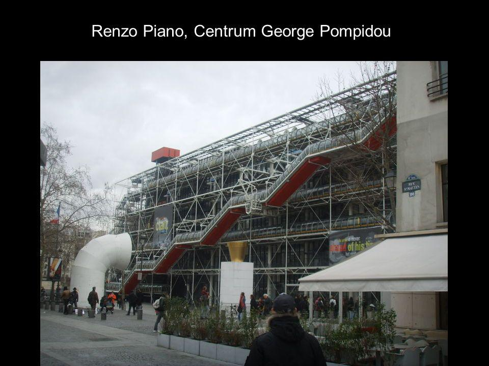 Renzo Piano, Centrum George Pompidou