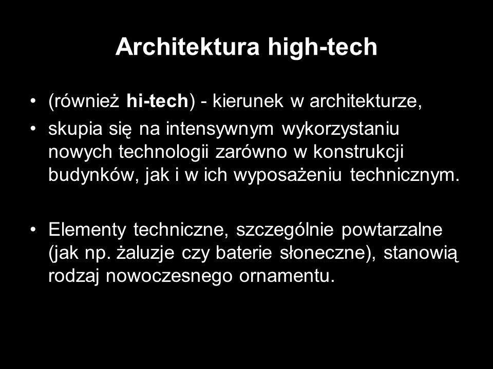 Architektura high-tech