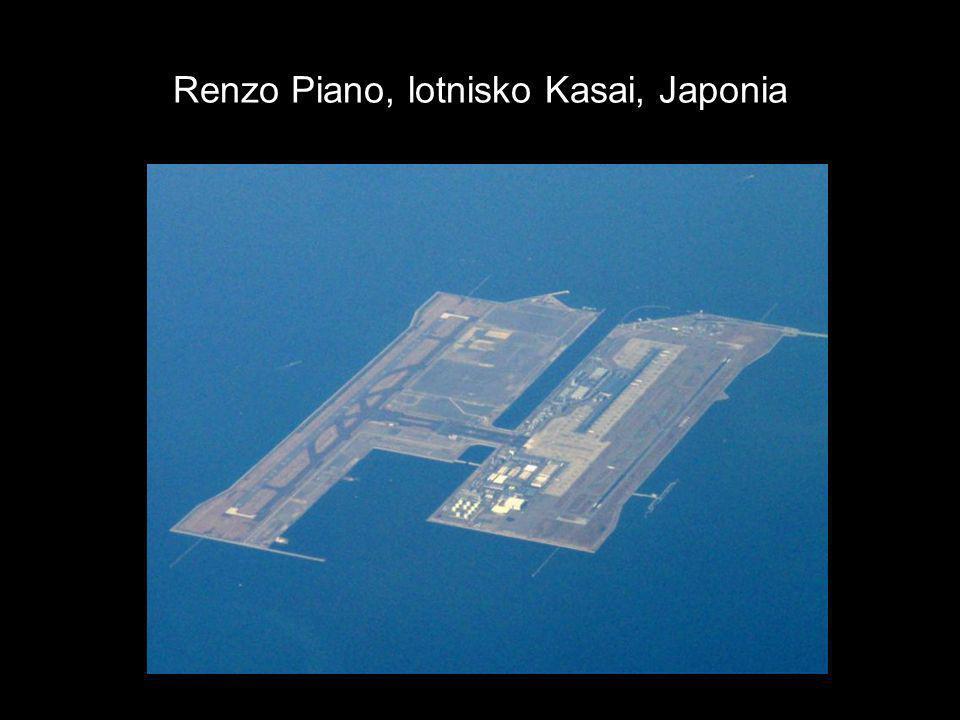 Renzo Piano, lotnisko Kasai, Japonia
