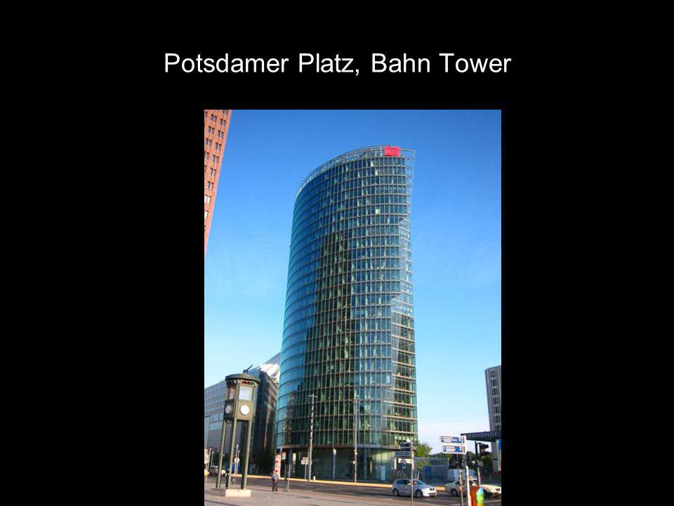 Potsdamer Platz, Bahn Tower