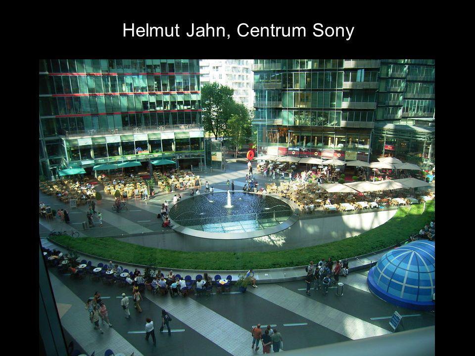 Helmut Jahn, Centrum Sony