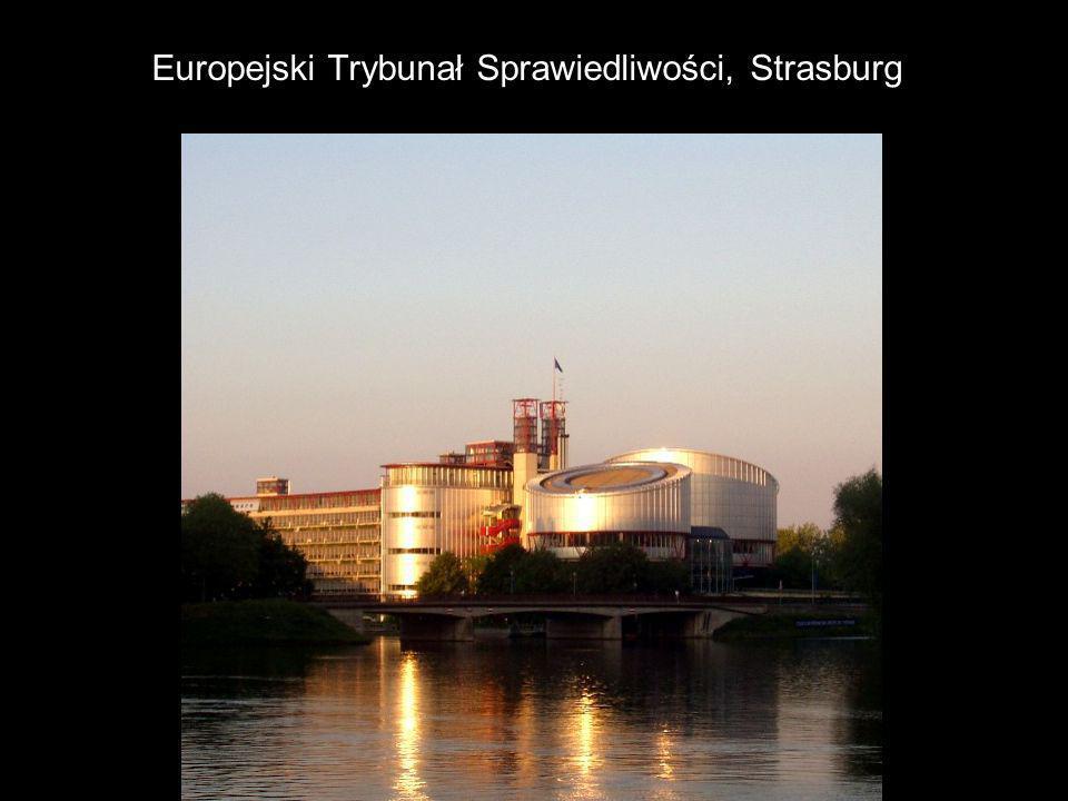 Europejski Trybunał Sprawiedliwości, Strasburg