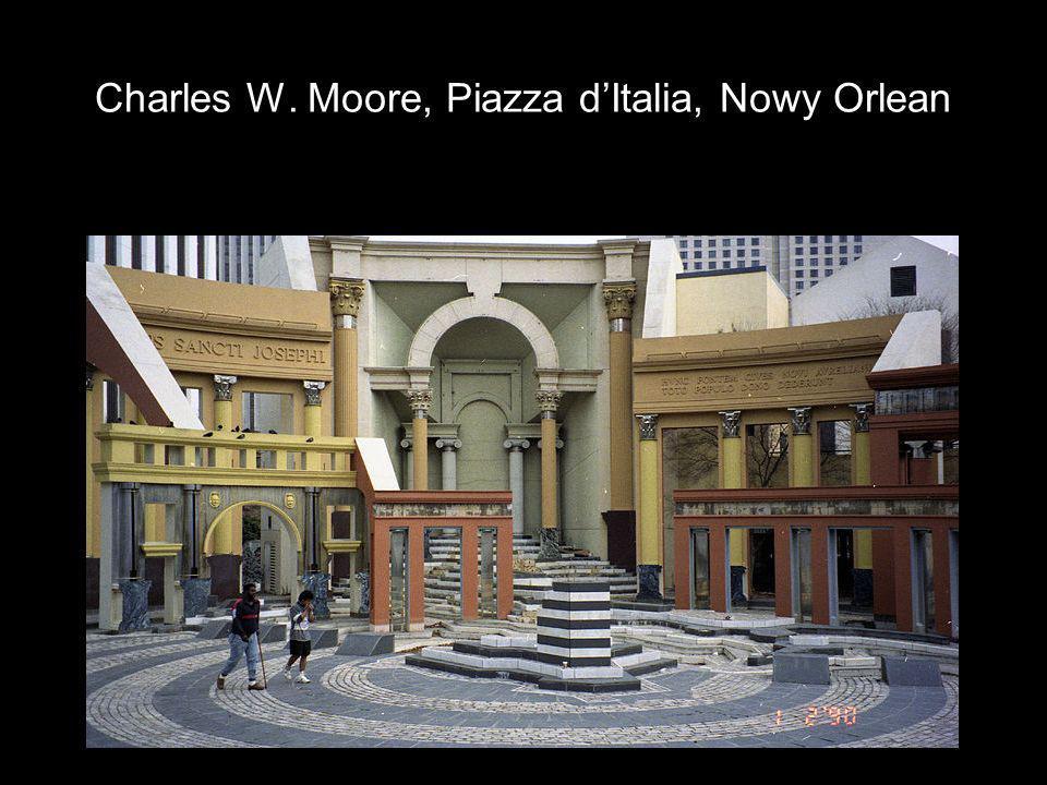 Charles W. Moore, Piazza d'Italia, Nowy Orlean