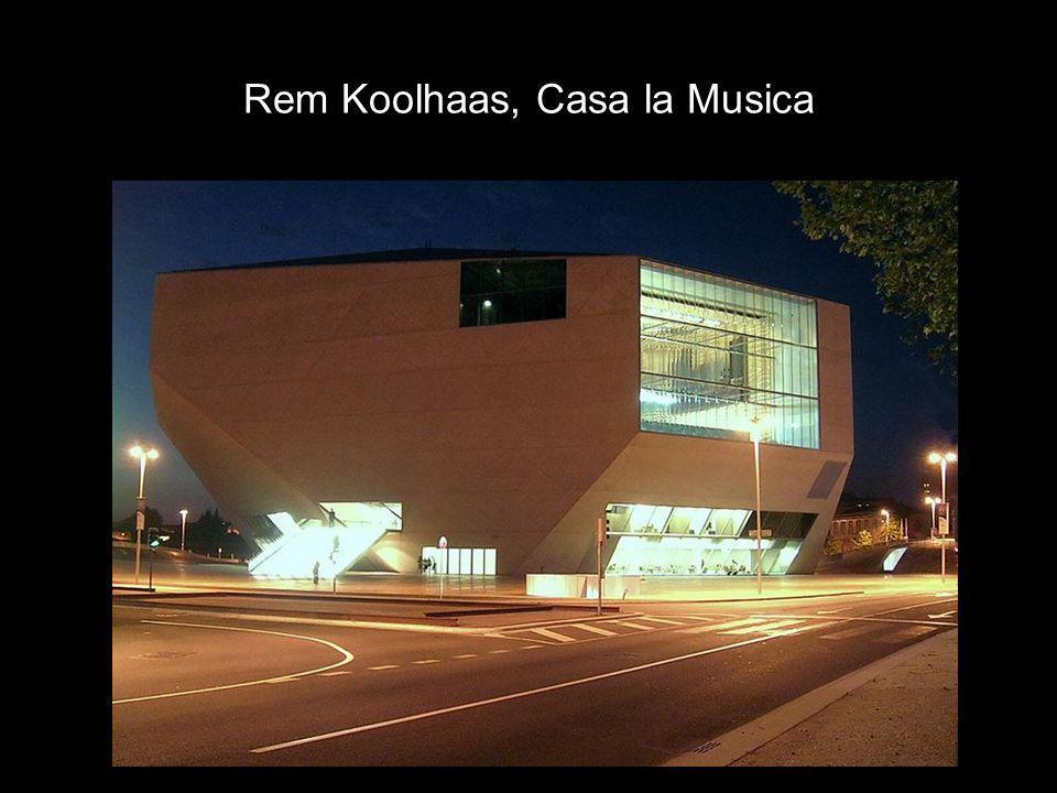 Rem Koolhaas, Casa la Musica