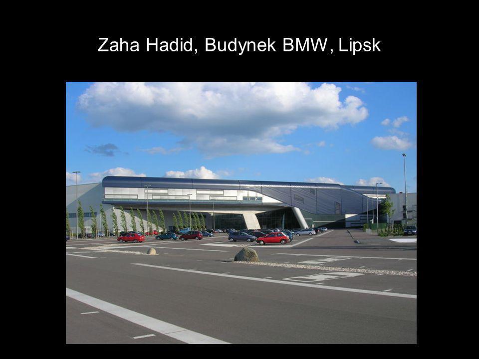Zaha Hadid, Budynek BMW, Lipsk