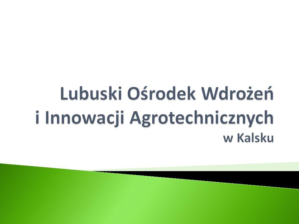Lubuski Ośrodek Wdrożeń i Innowacji Agrotechnicznych w Kalsku