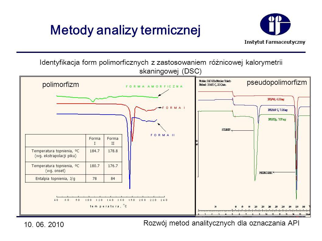 Metody analizy termicznej